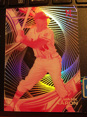 1/1 HANK AARON #44 Braves TOPPS 2016 The real deal only 1/1!