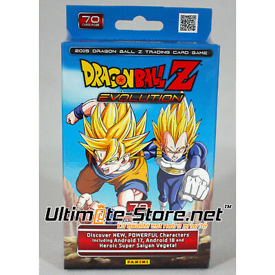 Carte DBZ - Starter Deck Dragon Ball Z TCG Evolution - Neuf sous Cellophane