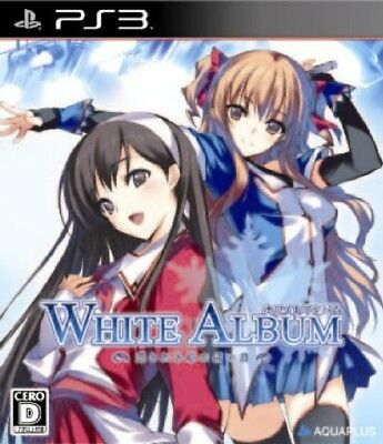 USED Game PS3 White Album Tsuzurareru Fuyu no Omoide