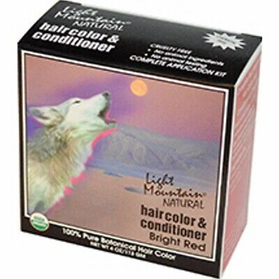 Haircolor Red-Bright 4 Oz by Light Mountain