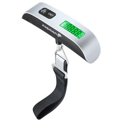 Portable Digital Luggage Scale LCD Display Travel Hook Hanging Weight 110lb NEW