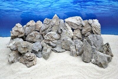 Pro Caisse Décoration Aquarium Pierre Naturelle Seiryu Gris 300-700 G Rock Nr.67
