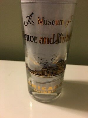 Vintage & Rare The Museum of Science and Industry Chicago Illinois Glass