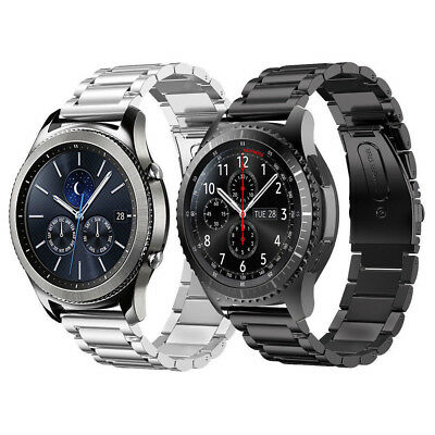 Concise Stainless Steel Strap Watch Band for Samsung Gear S3 Frontier S3 Classic
