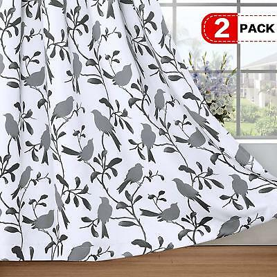 H.Versailtex Thermal Insulated Blackout Curtains Energy Smart Saving Easy Care G