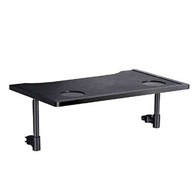 Wheelchair Table Desk Lap Tray with Cup Holders,Attached by Screws, AntiSlip