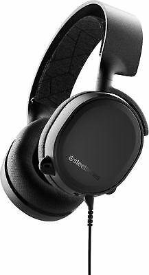 SteelSeries - Arctis 3 Console 2019 Edition Wired Stereo Gaming Headset - Black