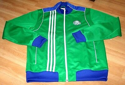 Adidas Original Palmeiras Brazil Rare Limited Edition Track Jacket M Superb