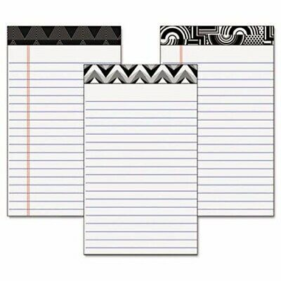 Tops Fashion Legal Pads with Assorted Headtapes, 5 x 8, 6 Pads (TOP30491)