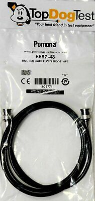 Pomona 5697-48  Coaxial Cable  BNC  48 Inches 50 Ohms