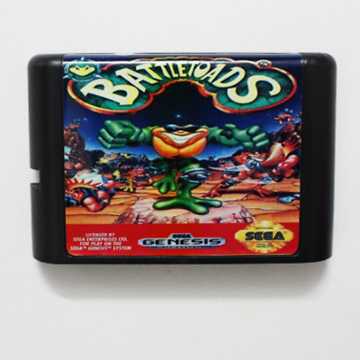 Battletoads 16 bit MD Game Card For Sega Mega Drive For Genesis