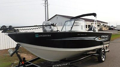 2012 Starcraft 186 SuperFisherman Deep Walleye Lake Boat Fish Ski Family Boat
