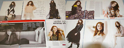 EMMA STONE 206x Clippings Covers Huge Lot