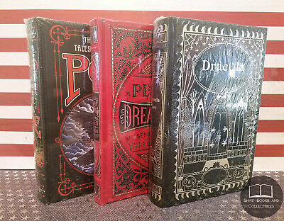 NEW SEALED Penny Dreadfuls + Tales of Edgar Allan Poe + Dracula Bonded Leather
