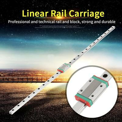 Linear Slide MGN12H 600mm Linear Rails Guide CNC Router with Carriage Block Hot