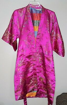 Jin Hon Kimono | Dragons Embroidered | Authentic Made in Shanghai China | Small