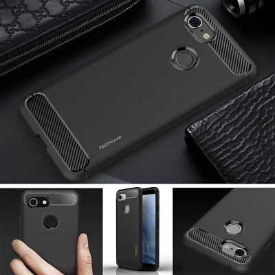 Premium Carbon Fibre Shockproof Soft Case Cover for Google Pixel 4 3 3a 2 XL etc