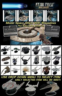 Star Trek Discovery Starships Collection By Eaglemoss - Model With Magazine New