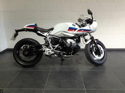 BMW R NINE T CAFE RACER SPORT; heated grips, low miles, 2 year warranty