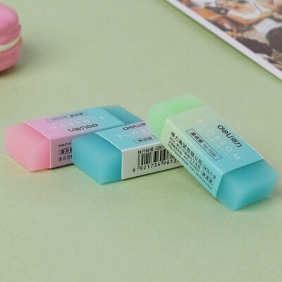 Cute Colorful Rubber Pencil Eraser Wipe Clean School Student Office Tools Supply