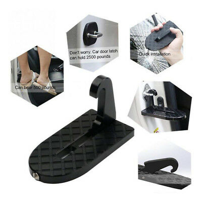 Car Folding Doorstep Ladder Rooftop Access With Safety Hammer For Car SUV Jeep