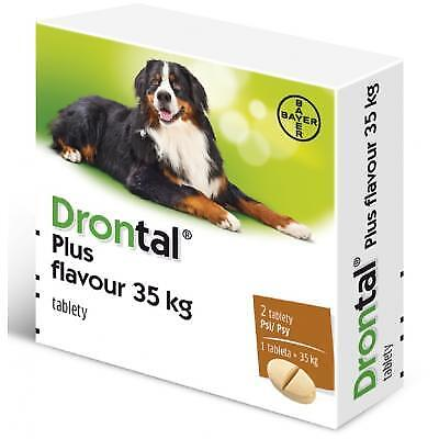 Bayer Drontal Plus XL for dogs >35 kg Free Shipping Sale price