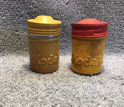 Vintage Kodak Metal Empty  Film Cans Lot 2