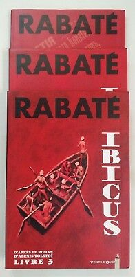 Ibicus  ** Tome 1 A 3   **  Dont Eo Rabate