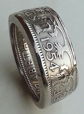 Vintage Double Sided Coin Rings - All Coins / Sizes/ Years - Handmade To Order