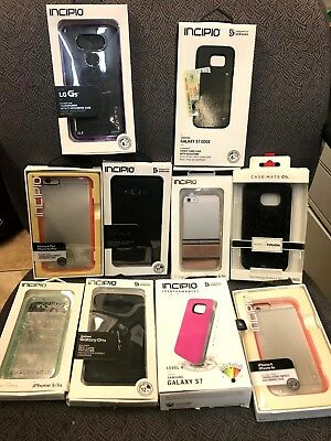Wholesale lot of 125 Various Mixed Cell Phone Cases