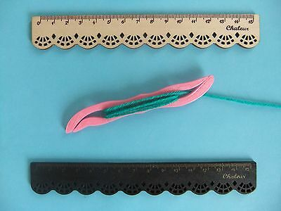 1 Celtic Tatting Heart Shaped Shuttle for Weaving with Looms & Lace NEW Plastic