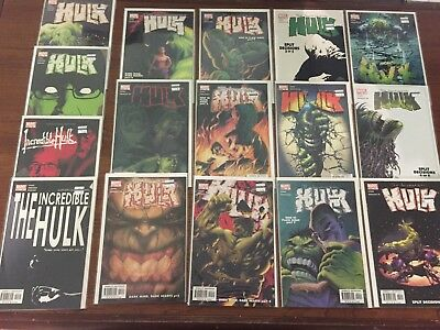 HUGE Lot of INCREDIBLE HULK COMIC BOOKS BY Marvel Copper age to Modern NICE!