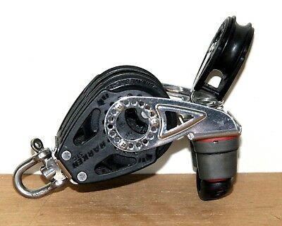 Harken 57 mm Carbo Triple Rachet with Cam and Becket -2140 and 40 mm Stan-up 265
