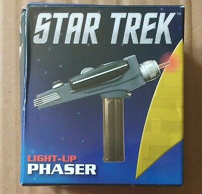 NEW Collectors Mini Editions: Star Trek - Light-up Phaser (2013, With Paperback)