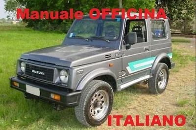 Suzuki Samurai Santana Manuale Officina (1989/2003) Italiano Su Cd
