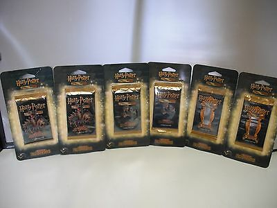 Harry Potter Trading Card Game-Adventures at Hogwarts-Lot of 6-New-2002