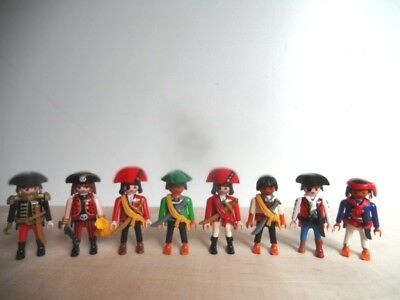 8 x Playmobil Piraten Figuren