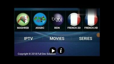 IRON IPTV      12 mois    Europe arabes VOD