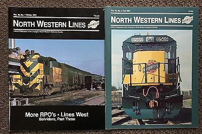 North Western Lines Magazine 2 From 1991 - Chicago & North Western Railroad