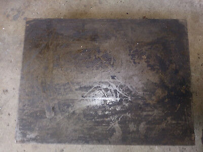 Cast Iron Machinist Inspection Surface Plate 15.5x12x2.5 high, 46#