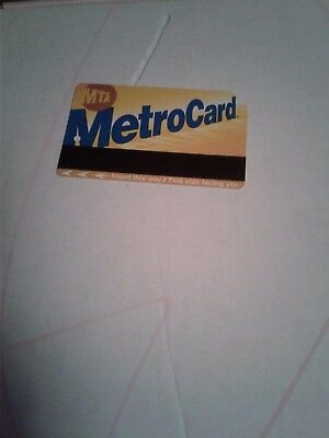 25-trip PAY-PER-RIDE METROCARD WORTH $68.75 SUBSTANTIAL DISCOUNT PRICE $60!!!!!