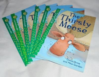 Guided Reading: Set of 6 The Thirsty Moose books