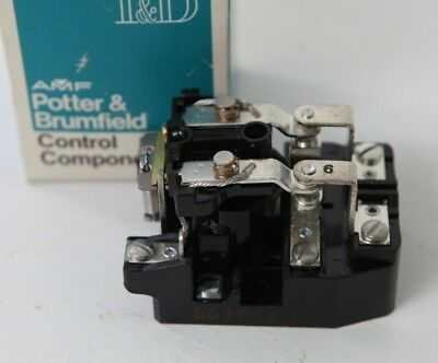 AMF Potter Brumfield PRD-11AY0-24 24VAC Coil Electromechanical Relay DPDT 25A