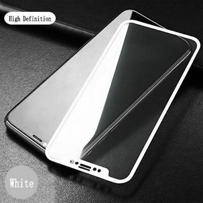 Tempered Glass curved Silicone Soft Edge full Screen Film for iPhone XS Max XR X