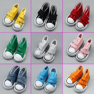 Fashion Doll Accessories Cloth Canvas Sneakers Shoes For Girl & Boy Doll