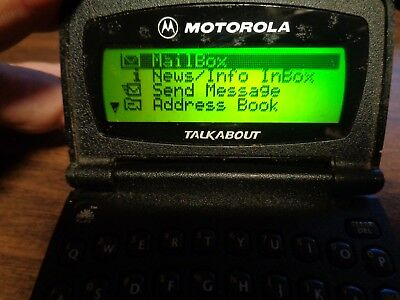 VINTAGE MOTOROLA TALKABOUT BEEPER PAGER ARCH model T 900 A06QBB5806AA As-Is Used
