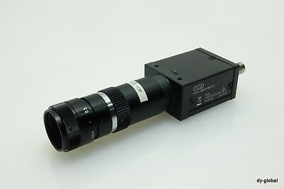 SONY Used XC-ST50CE CCD VIDEO CAMERA MODULE W/ 1:2.8 50mm lens OPT-I-314=o214