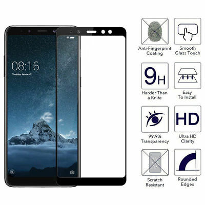 3D Full Coverage Tempered Glass Screen Protector For Samsung Galaxy A8 (2018)