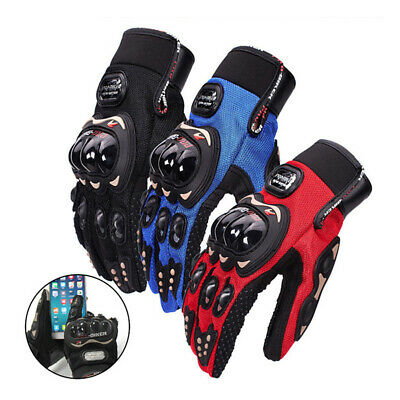 Winter Thermal Motorcycle Motorbike Gloves Knuckle Protection Touchscreen Gloves