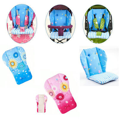 1PC Baby Removable High Chair Mat Feeding Seat Folding Cover Booster Pram Pad